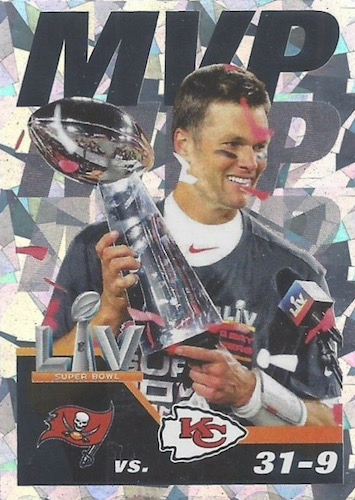 2021 Panini NFL Sticker & Card Collection Football Cards - Checklist Added 4