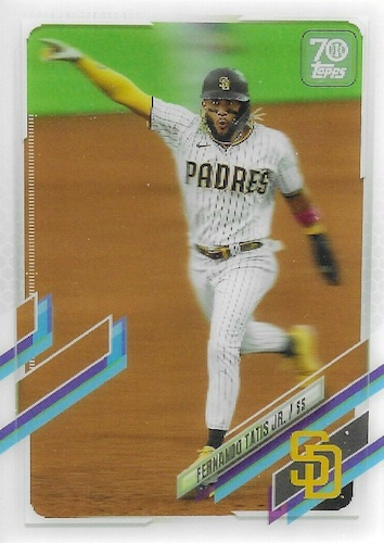 2021 Topps 3D Baseball Variations Gallery and Checklist 1