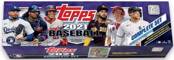 2021 Topps Baseball Complete Factory Set Cards Exclusives Guide and Checklist 10