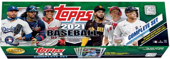 2021 Topps Baseball Complete Factory Set Cards Exclusives Guide and Checklist 9