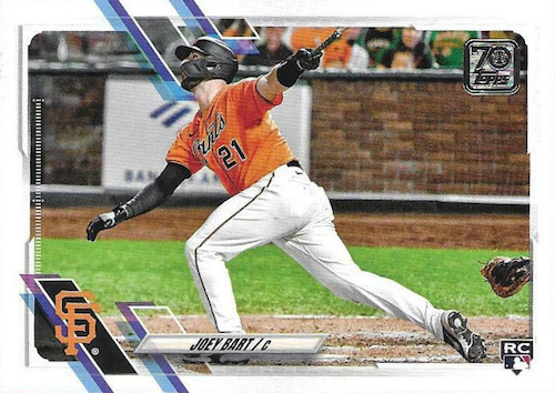 2021 Topps Baseball Factory Set Rookie Variations Gallery 3