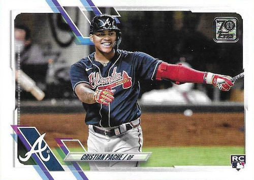 2021 Topps Baseball Factory Set Rookie Variations Gallery 9
