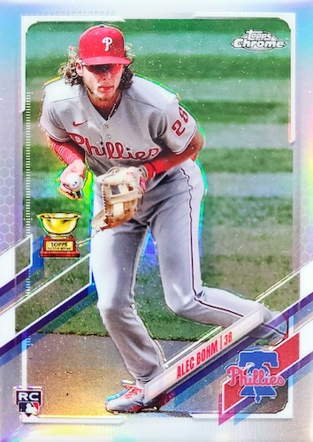 2021 Topps Baseball Factory Set Rookie Variations Gallery 13