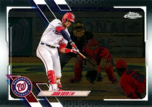 2021 Topps Chrome Baseball Variations Gallery and Checklist 36
