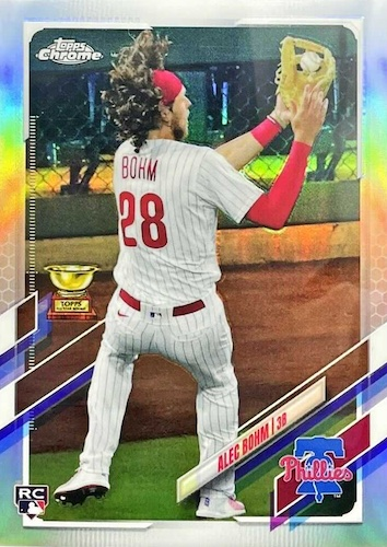 2021 Topps Chrome Baseball Variations Gallery and Checklist 28