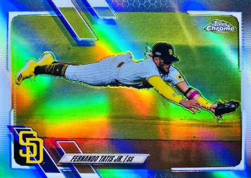 2021 Topps Chrome Baseball Variations Gallery and Checklist 2