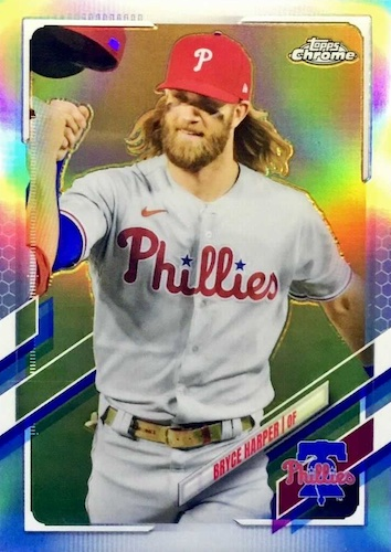 2021 Topps Chrome Baseball Variations Gallery and Checklist 30