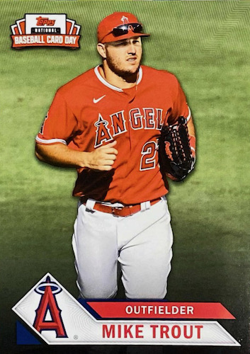 2021 Topps National Baseball Card Day Cards - Saturday, August 7 4