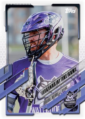 2021 Topps Premier Lacrosse League 2020 Championship Series Cards 2