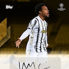 2021 Topps Weston McKennie Curated UEFA Champions League Soccer Cards