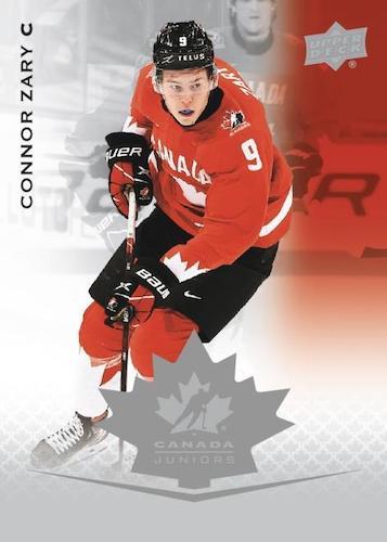2021 Upper Deck Team Canada Juniors Hockey Cards 1