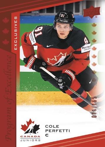 2021 Upper Deck Team Canada Juniors Hockey Cards 2