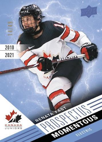 2021 Upper Deck Team Canada Juniors Hockey Cards 3