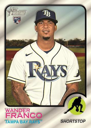 2022 Topps Heritage Baseball Cards 1