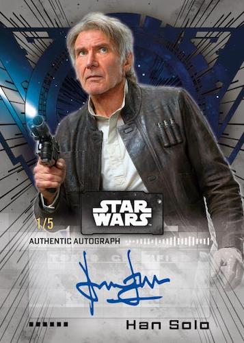 2022 Topps Star Wars Signature Series Trading Cards 3