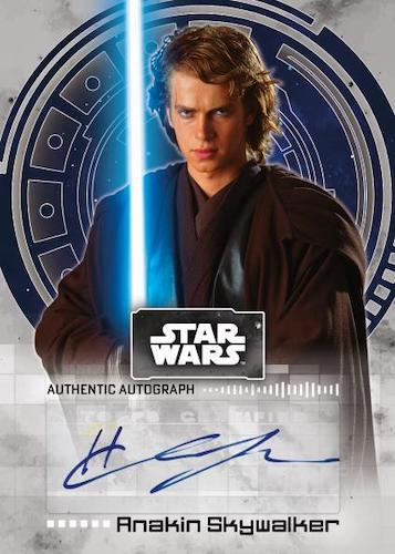 2022 Topps Star Wars Signature Series Trading Cards 1