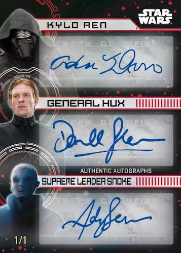 2022 Topps Star Wars Signature Series Trading Cards 4
