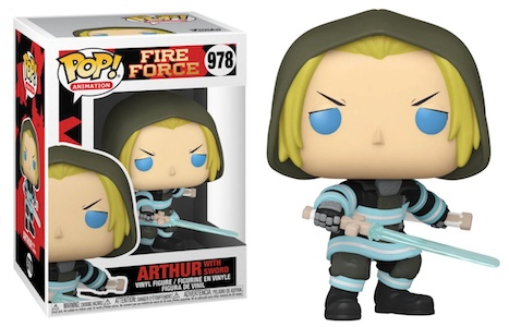Funko Pop Fire Force Figures 1