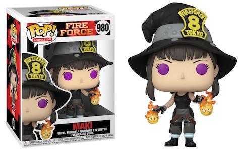 Funko Pop Fire Force Figures 3