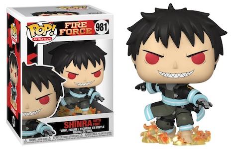 Funko Pop Fire Force Figures 4