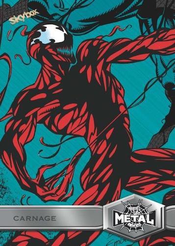 2021 Skybox Marvel Metal Universe Spider-Man Trading Cards 3