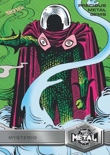 2021 Skybox Marvel Metal Universe Spider-Man Trading Cards 2