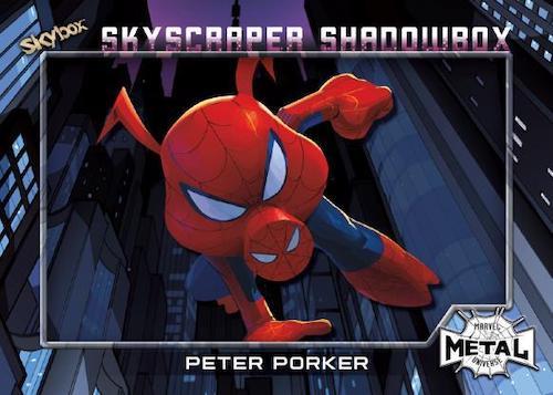 2021 Skybox Marvel Metal Universe Spider-Man Trading Cards 11