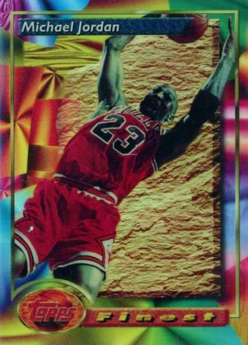 1993-94 Topps Finest Basketball Cards 3