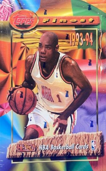 1993-94 Topps Finest Basketball Cards 5