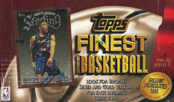 1996-97 Topps Finest Basketball Cards 6