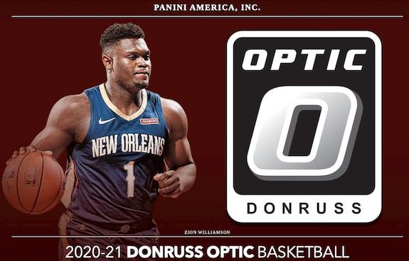 2020-21 Donruss Optic Basketball Factory Box Set Exclusive Cards 1