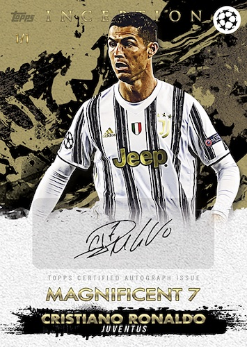 2020-21 Topps Inception UEFA Champions League Soccer Cards 4