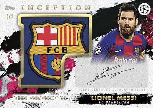 2020-21 Topps Inception UEFA Champions League Soccer Cards 5