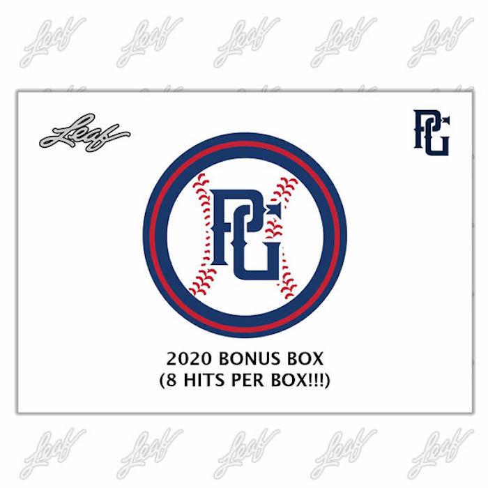 2020 Leaf Perfect Game Baseball Bonus Box Cards 3