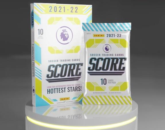 2021-22 Score Premier League Soccer Cards - Checklist Added 1