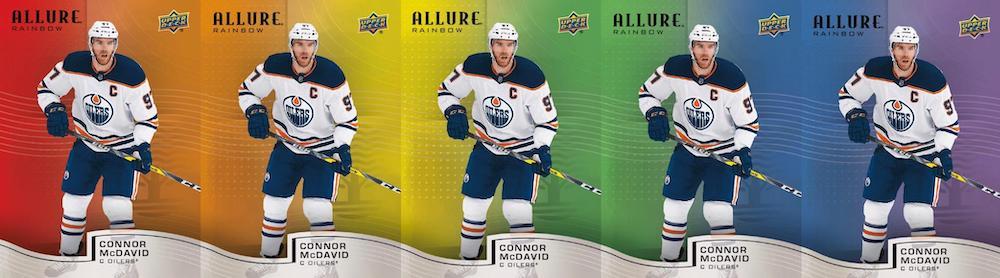 2021-22 Upper Deck Allure Hockey Cards 5