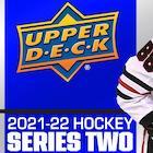 2021-22 Upper Deck Series 2 Hockey Cards