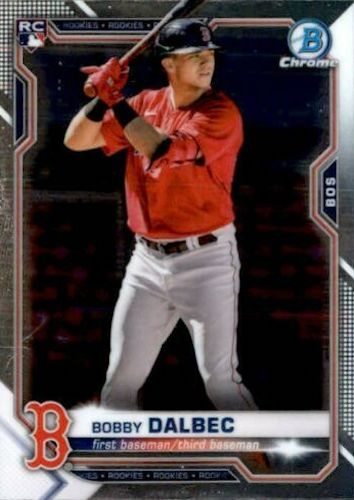 2021 Bowman Chrome Baseball Variations Rookie Refractor Gallery 1