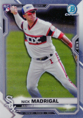 2021 Bowman Chrome Baseball Variations Rookie Refractor Gallery 3