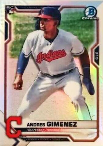 2021 Bowman Chrome Baseball Variations Rookie Refractor Gallery 8