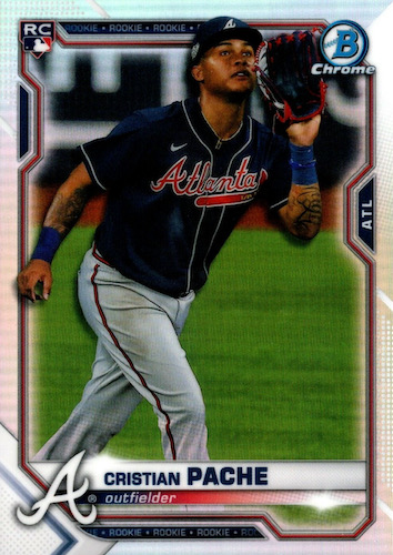 2021 Bowman Chrome Baseball Variations Rookie Refractor Gallery 24