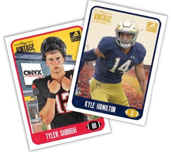 2021 Onyx Vintage College Football Cards 1