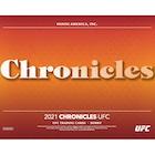 2021 Panini Chronicles UFC MMA Cards Checklist