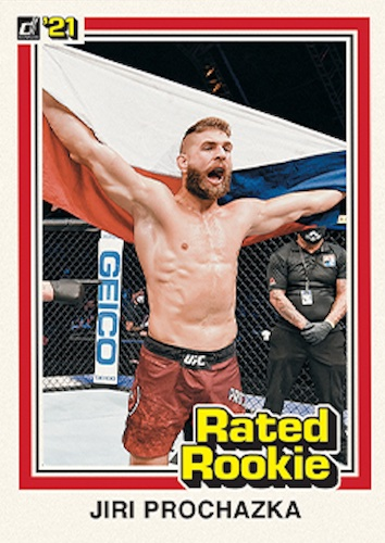2021 Panini Instant UFC Rated Rookie Retro MMA Cards 1