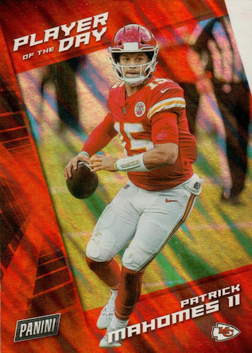 2021 Panini NFL Player of the Day Football Cards 2