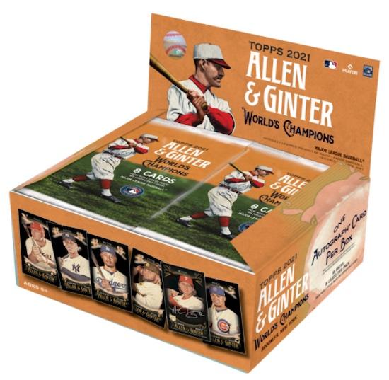 2021 Topps Allen & Ginter X Baseball Cards Checklist 4
