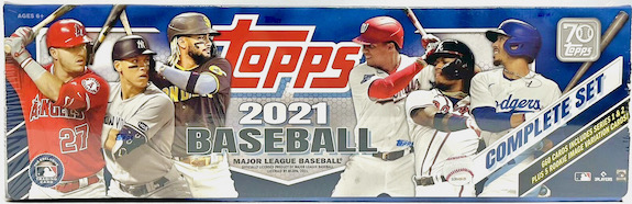 2021 Topps Baseball Complete Factory Set Cards Exclusives Guide and Checklist 8