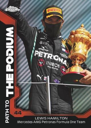 2021 Topps Chrome Formula 1 Racing Cards 5