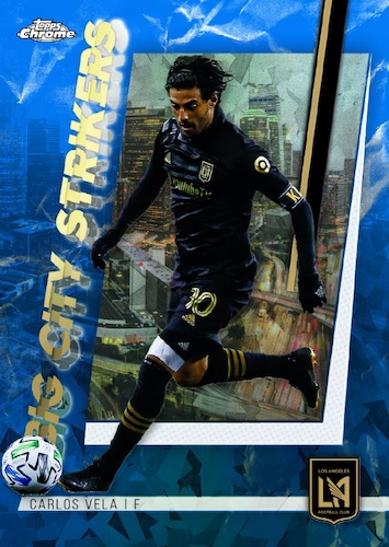 2021 Topps Chrome Sapphire Edition MLS Major League Soccer Cards Checklist 3