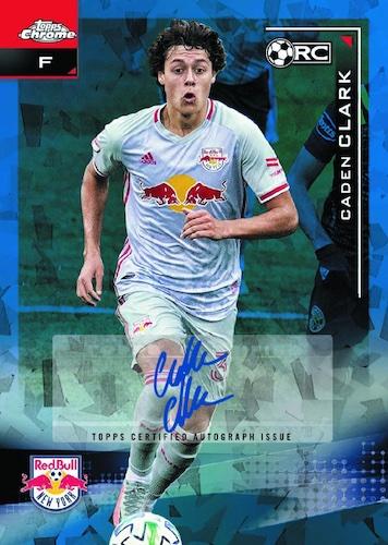 2021 Topps Chrome Sapphire Edition MLS Major League Soccer Cards Checklist 5
